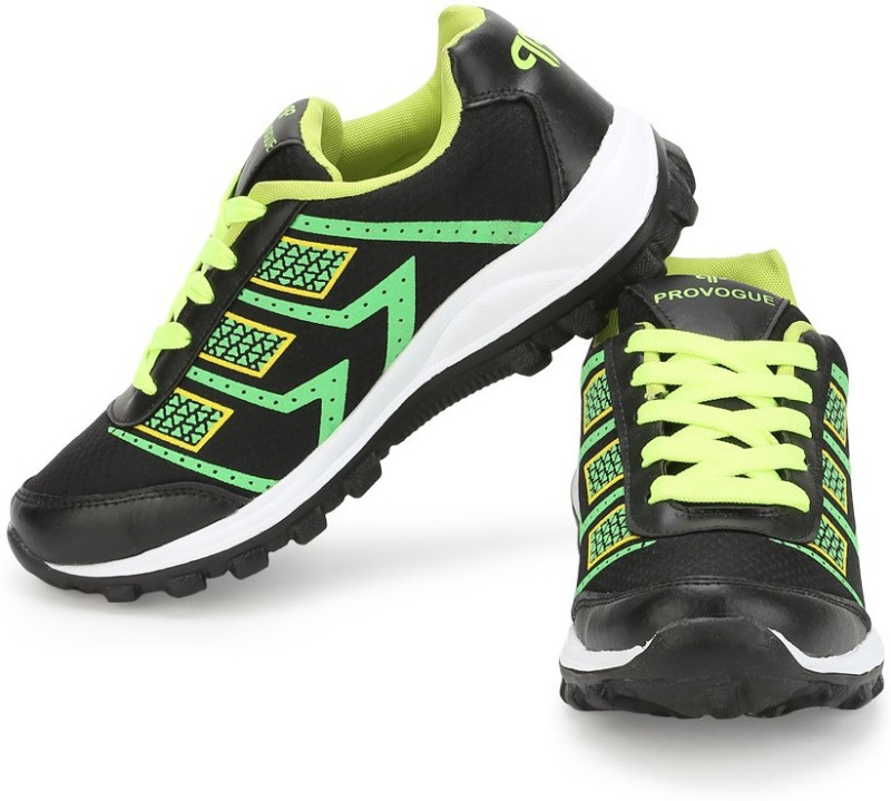 Provogue Running ShoesBlack Green SHOEB4MGGWXPFBXQ