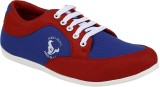 Vonc Blue Red Casual Shoes (Blue)