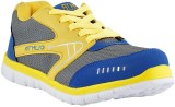 Athlio Running Shoes (Grey, Yellow)