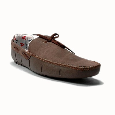 Choice4U Long Brown Loafer Shoes