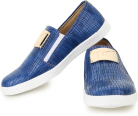 Shezone Loafers(Blue)