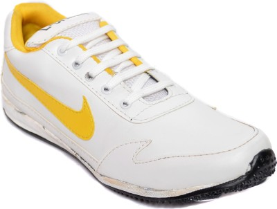 Kamil Yellow Running Shoes