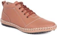 Haroads Ankle Half Length Boots(Tan)