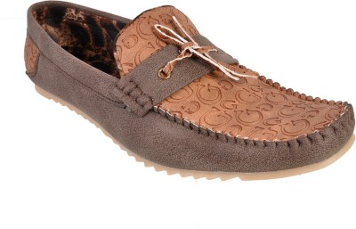 Walk Free Might Brown-Tan Loafers