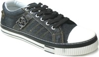Fast Trax 5706 Black Canvas Shoes