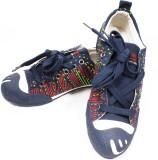 Krish Canvas Shoes (Blue)