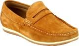 GAI Tan Leather Loafers (Tan)