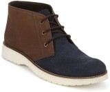 Arden Dennis Ankle Boots (Blue, Brown)