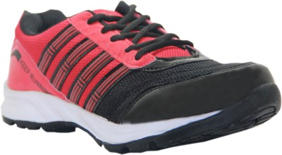 Stepin Soles Galaxy-3 Red/Black Running Shoes