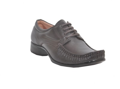 Runbird Leather Derby Lace Up Shoes