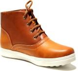 Regalia Casual Boots for Men (Brown,Tan)...