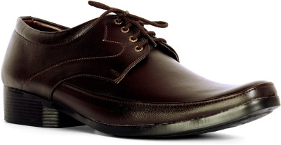 Sam Stefy Brown Formal Lace Up Shoes