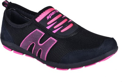 Sparx Stylish Black Pink Running Shoes(Black, Pink)