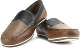 Van Heusen Men Loafers (Black, Brown)
