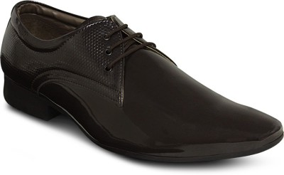 Get Glamr Designer Patent Lace Up Shoes