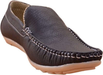 3 Wolves Black Crossroad Loafers