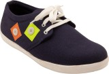Centto Funky Casual Shoes (Black)