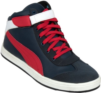 Ztoez Red Casual Shoes
