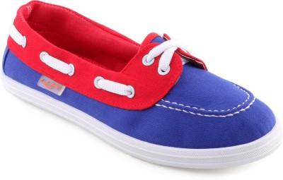 Lancer Blue Loafers(Blue, Red)