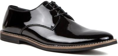 Nudo Plain Patent Party Wear Shoe