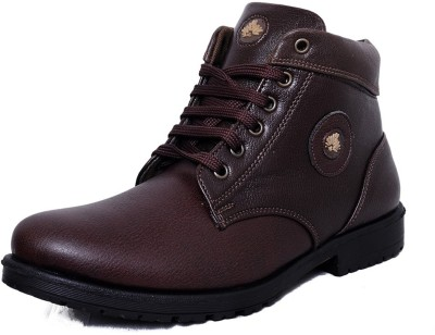 Black Tiger Men's Synthetic Leather Casual Shoes 091-Brown-8 Casuals
