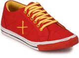 Boxwood Canvas Shoes (Red)