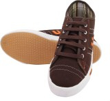 Unistar 5004 Canvas Shoes (Brown)