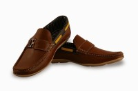 Bacca Bucci Adorable Brown Loafers best price on Flipkart @ Rs. 599