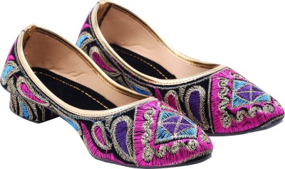 Royal Collection Women Pink, Purple, Blue Heels