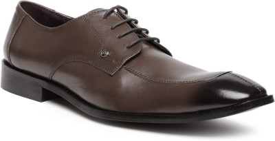 Invictus Lace Up(Brown) at flipkart