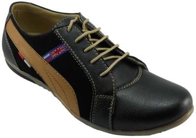 B3trendz B3B0032 Black Lac-up Casual Shoes