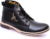 Marcbeau Ankle Lengh Boots (Black, Black...