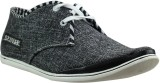Dziner Black Casual Shoes (Black)