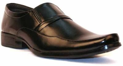 Dox Modish Black Slip On Shoes