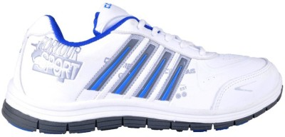 Boot Bazar White Sports Shoes for Shoes Running Shoes
