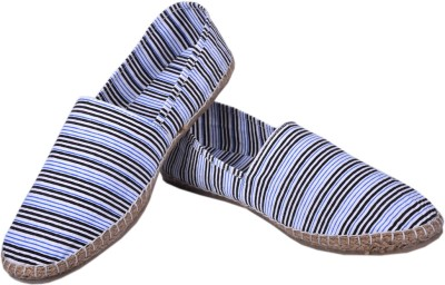 Aartisto White Line Canvas Espadrilles Casuals