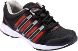 Spot On Best-5-Blk-Red Running Shoes (Bl...