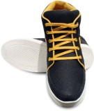 Donner Black Casual Shoes (Black, Yellow...