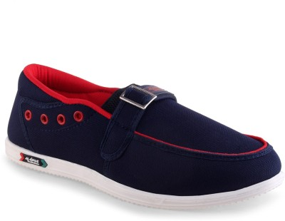 Go Run Maxis Maxis MX-61 Blue Red Loafers Loafers