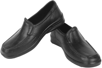 Earton Black-275 Slip On Shoes