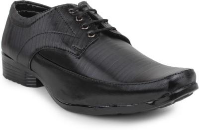 11e Frml-3011-Black Lace Up Shoes