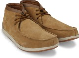 Woodland Leather Outdoor shoes (Tan)