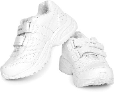 TOUCHWOOD KIDS UNISEX SCHOLAR WHITE SCHOOL SHOE Running Shoes
