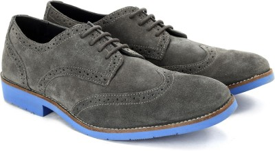 Woodland Men Corporate Casuals(Grey)