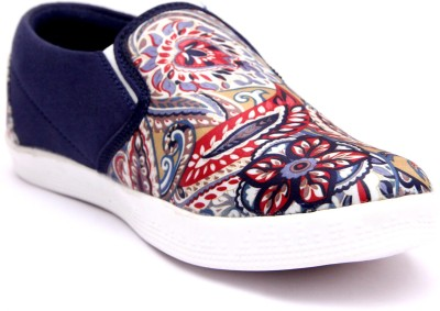 Loddx Fabric Printed Canvas Shoe Casuals