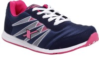 Sparx Stylish Navy Blue & Pink Running Shoes(Navy, Pink)