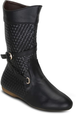 Get Glamr DAWN Boots(Black)