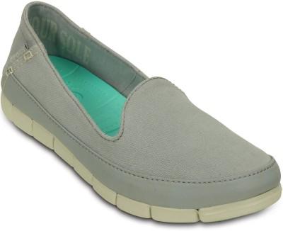 Crocs Loafers(Grey) at flipkart