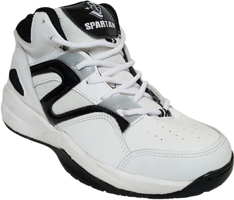 Sports Spartan Atlas Basketball ShoesWhite SHOEGG7TWF5EKW4H