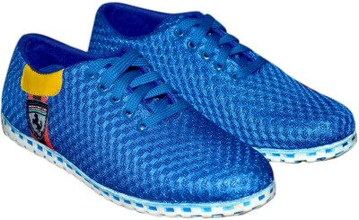 Trackland Blue Canvas Shoes